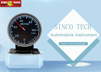 Autometer Oil Pressure Gauge , Digital Oil Temp Gauge For Universal Rally Cars