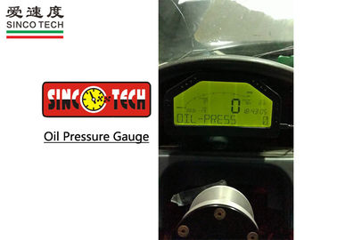 6.5 '' Racing Vehicle Electric Oil Pressure Gauge Pressure Range 0 - 1500 PSI