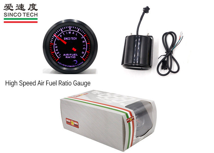 DO 6348 Autometer Air Fuel Meter / Autometer AFR Gauge SINCO TECH CE Approved