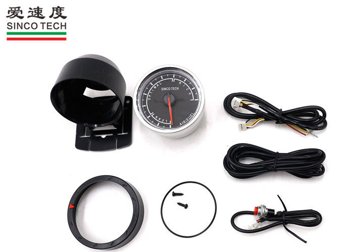 2.5 '' Racing Air Fuel Ratio Meter 12V Universal Aluminum Material For Refitting Car